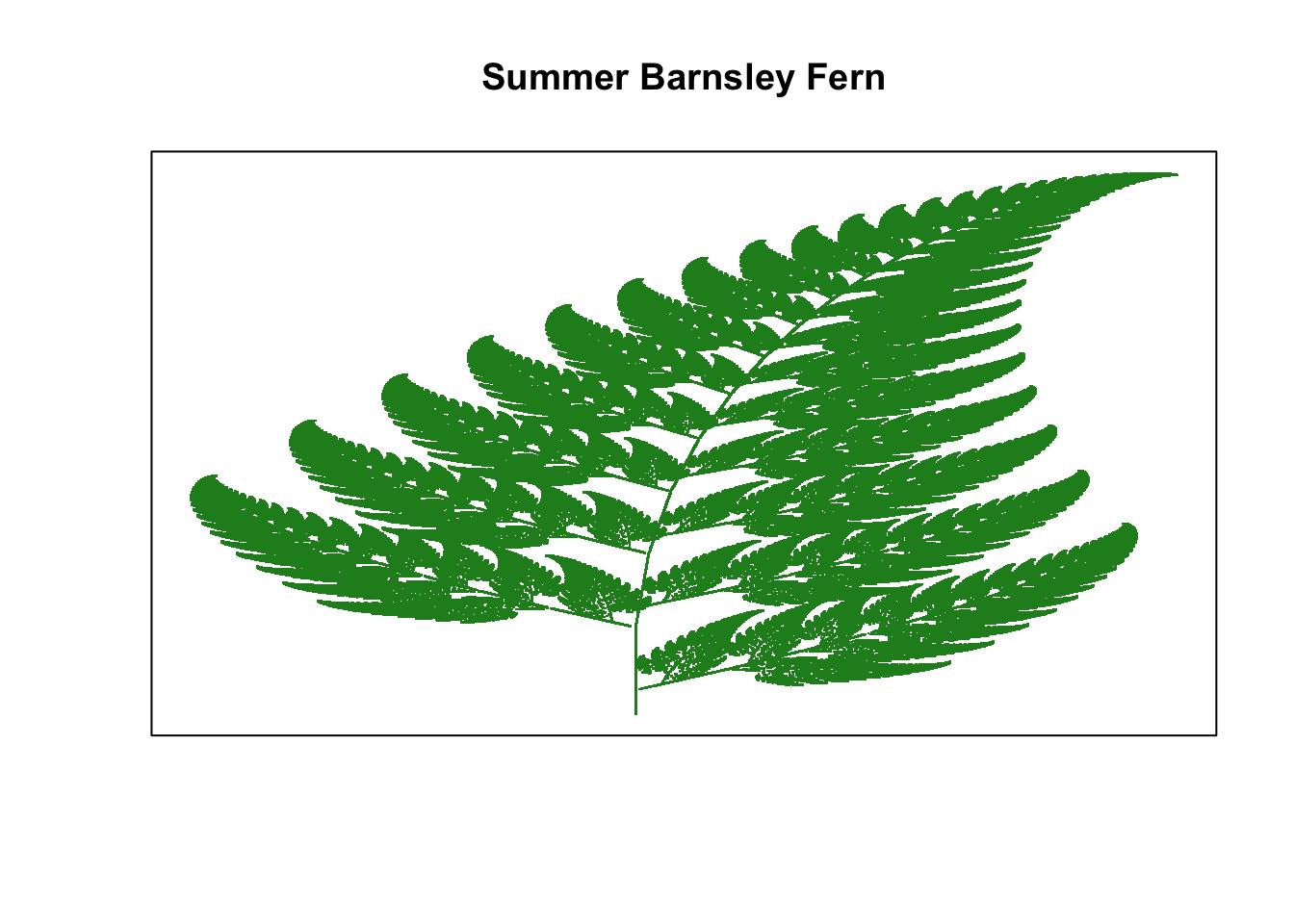 Autumn Barnsley Fern